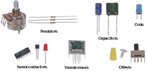 What Are The Electrical Components Used In Electronic Projects