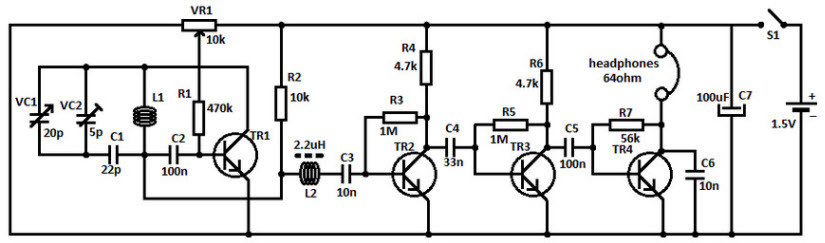 fm radio receiver circuit working