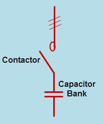 Single Step Fixed Capacitor Correction System
