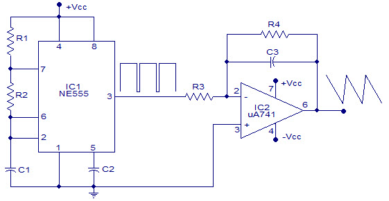 square wave generator using op amp electronic circuitssquare waveform generator circuit using 555 timer