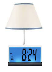 Automatic Night Lamp with Morning Alarm