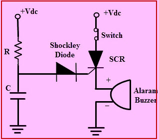 Shockley Diode Circuit Diagram