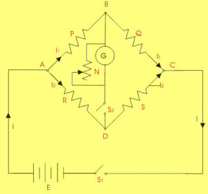 Wheatstone Bridge Circuit Arrangement