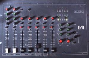 Audio Mixer Window