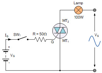 TRIAC as a Switching Circuit