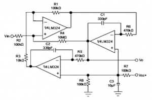 Working of LM324 Comparator
