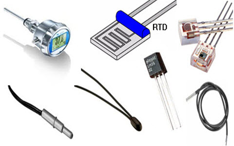 Different Types of Temperature Sensors - Temperature Sensor